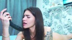 Tattooed Joconda Gets Amzing Orgasm