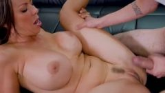 Inked Dude Likes To Fuck Aaliyah Hadid, Mostly From The Back, Until She S