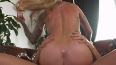 Horny America Sammie Six Banging In The Counter With Her Massive Boobs