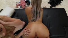 Naughty 21 Year Old With Incredible Bubble Ass Seduced During An Audition