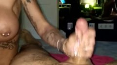 Crazy Tattoo Hooker Blow-Job
